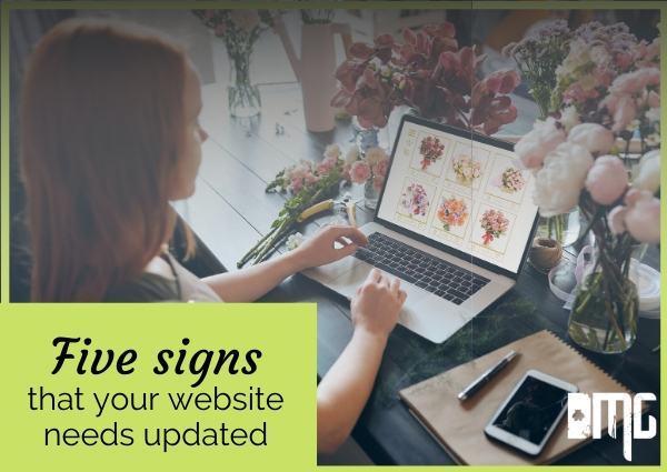 Five signs that your website needs updated