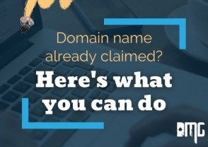 Domain name already claimed? Here's what you can do