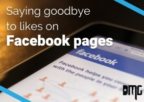 Saying goodbye to likes on Facebook pages