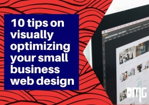 UPDATED 10 Tips on visually optimizing your small business web design