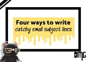 Four ways to write catchy email subject lines