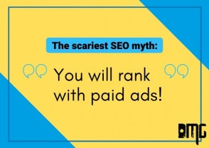"The scariest SEO myth: ""You will rank with paid ads!"""