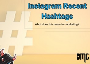 Instagram recent hashtags: What does this mean for marketing?